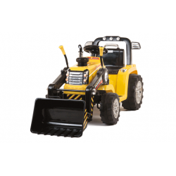 Tractor Shovel child 12v With remote control cheap CochesEléctricosNiños Exhausted