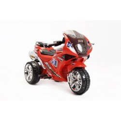 Super Sport Bike 6v electric motorcycle for kids CochesEléctricosNiños Exhausted