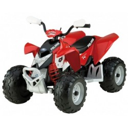 Quad Polaris Outlaw 12v kids CochesEléctricosNiños Exhausted