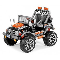 Gaucho Rock in 4x4 12v -car electric kids 2 seater Peg-Pérego Exhausted