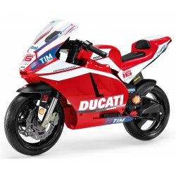 Ducati GP Official - electric motorcycle for kids Peg-Pérego Exhausted
