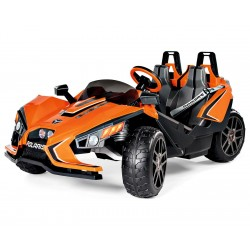 Polaris SlingShot two-Seater - buggy electric kids two seater 12v Peg-Pérego Exhausted