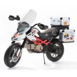 Ducati HyperCross Official 12v - electric motorcycle for kids battery, Peg-Pérego Exhausted