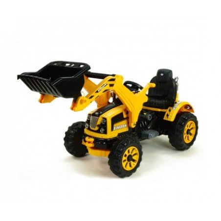 Tractor Shovel power KINGDOM 12v mp3