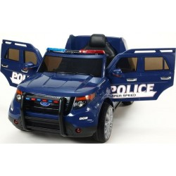 Police car off-road FBI 12v electric car children ATAA CARS Exhausted