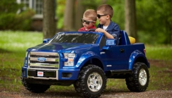 Refurbished electric kids's cars